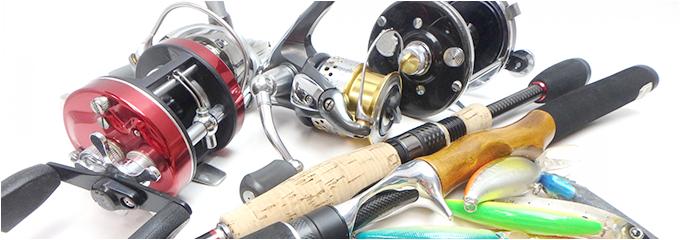 釣り具のイメージ